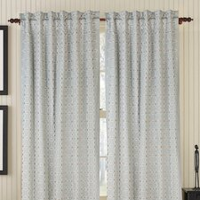 Gash Rod Pocket Drape Single Panel