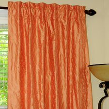 Guild Silk Rod Pocket Drape Single Panel