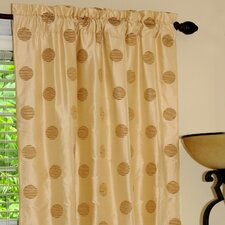 Venus Silk Rod Pocket Drape Single Panel