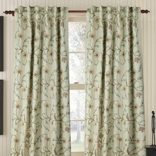 Harmony Linen Rod Pocket Drape Single Panel