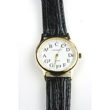 Women's Circle of Fourths Watch in Black