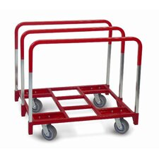 "<strong>Raymond Products</strong> Panel Mover 5"" Quiet Poly Casters, All Swivel, 3 Standard Uprights"