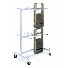 Compact Size for Lifetime Hanging Folded Chair Storage Truck