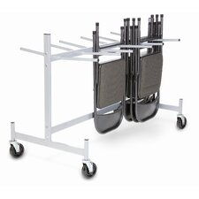<strong>Raymond Products</strong> Half Size Hanging Folded Chair Storage Truck