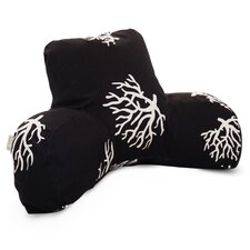 Coral Reading Pillow