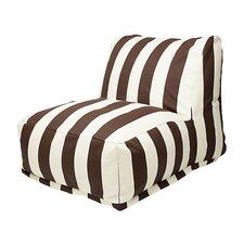 Striped Bean Bag Chair Lounger