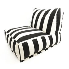 <strong>Majestic Home Products</strong> Striped Bean Bag Chair Lounger
