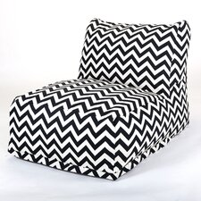 Zig Zag Bean Bag Chair Lounger