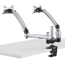 Apple Spring Arm Height Adjustable 2 Screen Desk Mount