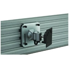 Slatwall Tilt/Swivel Wall Mount for LCD