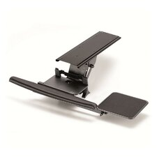 Fully Adjustable Ergonomic Keyboard Mouse Tray-Lever