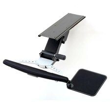 Fully Adjustable Keyboard Mouse Tray and Wrist Rest