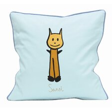 <strong>Meo and Friends</strong> Friends on Your Sansi Down-Filled Pillow