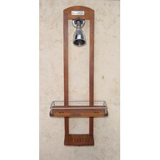 <strong>Aqua Teak</strong> Small Teak Shower Caddy
