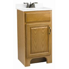 "Richland 18"" Single Door Cabinet Vanity Set"