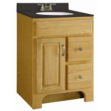 "Richland 24"" One Door Cabinet Vanity Set"