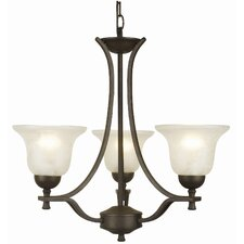 Ironwood 3 Light Chandelier