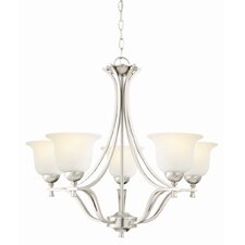 <strong>Design House</strong> Ironwood 5 Light Chandelier