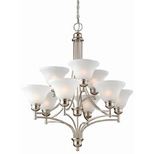 <strong>Design House</strong> Bristol 9 Light Chandelier