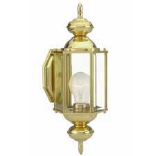 <strong>Design House</strong> Augusta 1 Light Outdoor Wall Lantern