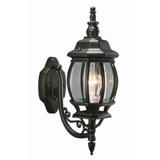 Canterbury 1 Light Outdoor Uplight Wall Lantern