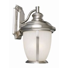 <strong>Design House</strong> Bristol 1 Light Outdoor Downlight Wall Lantern