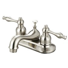 Saratoga Double Handle Bathroom Faucet