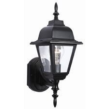 Maple Street 1 Light Outdoor Uplight Wall Lantern