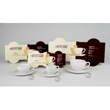 Coffee Bar Barista Espresso Cup Set (Set of 4)