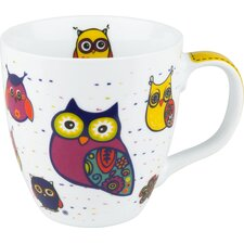 14 oz. Owl Mug (Set of 4)