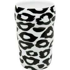 11 oz. Leopard Double Walled Grip Mug (Set of 2)