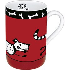 <strong>Konitz</strong> Animal Stories Dog 10 oz. Mug (Set of 4)