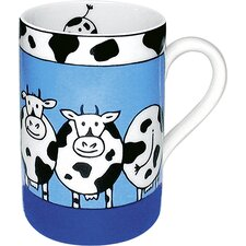 Animal Stories Cow 10 oz. Mug (Set of 4)