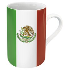 Mexico Flag Mug (Set of 4)