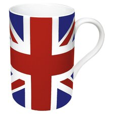 Union Jack Flag Mug (Set of 4)