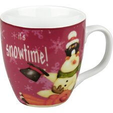Holiday Frostys Snowtime Mug (Set of 4)