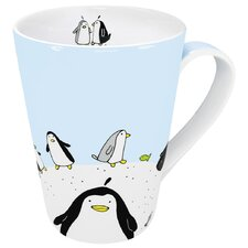 Animals Globetrotter Penguin Mug (Set of 4)