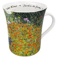 Art Les Fleurs Chez - Les Peintres Klimt Mug (Set of 4)