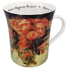 Art Les Fleurs Chez - Les Peintres Renoir Mug (Set of 4)