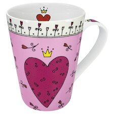 Gift for All Occassions Princess of My Heart Mug (Set of 4)