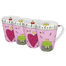<strong>Konitz</strong> Assorted Prince and Princess 13 oz. Mug (Set of 4)