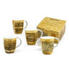 Facsimile 11 oz. Mug (Set of 4)