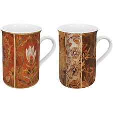 Tapestry 10 oz. Mug (Set of 2)