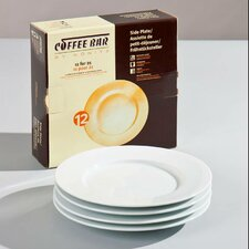 "<strong>Konitz</strong> Coffee Bar 8"" Plate (Set of 4)"