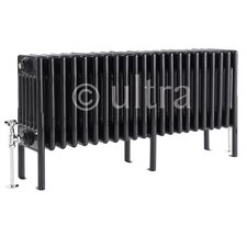 <strong>Ultra</strong> Colosseum 6 Column Radiator in High Gloss Black