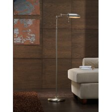<strong>Lustrarte Lighting</strong> Contemporary Office 1 Light Floor Lamp
