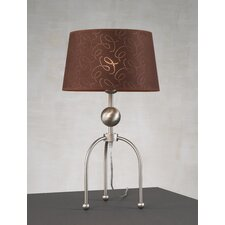 "Contemporary Triplex 21"" H Table Lamp with Empire Shade"