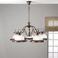 Rustik Five Light Chandelier