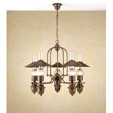<strong>Lustrarte Lighting</strong> Rustik Velha Five Light Chandelier