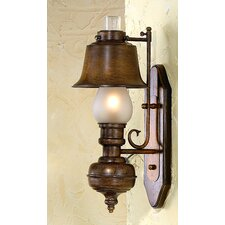 <strong>Lustrarte Lighting</strong> Rustik Rustica 1 Light Wall Sconce